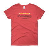 Sayings - Tested on Mountain Bikes - Women's short sleeve t-shirt