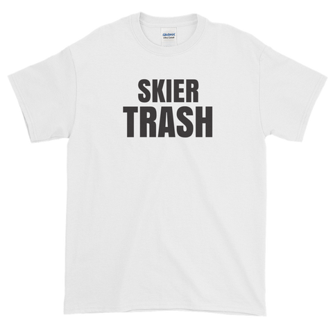 Sayings - Skier Trash - Men's Short sleeve t-shirt