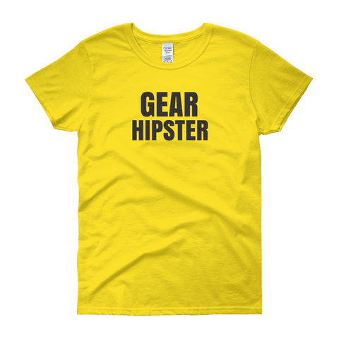 Sayings - Gear Hipster - Women's short sleeve t-shirt