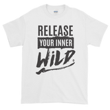 Sayings - Release Your Inner Wild - Men's Short sleeve t-shirt