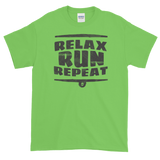 Sayings - Relax Run Repeat - Men's Short sleeve t-shirt