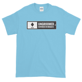Ski Signs - Expert - Ungroomed Covered in Moguls - Short sleeve Men's t-shirt