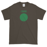 Ski Signs - I Suck - Short sleeve Men's t-shirt