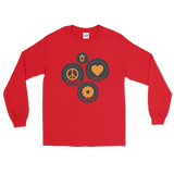 Peace, Love, and Gear - Long Sleeve T-Shirt