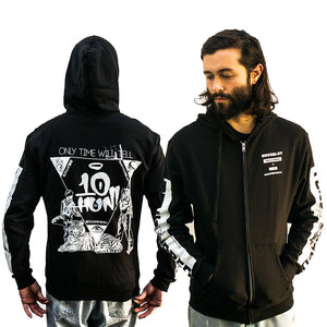 Only Time Will Tell - Zip-Up Hoodie