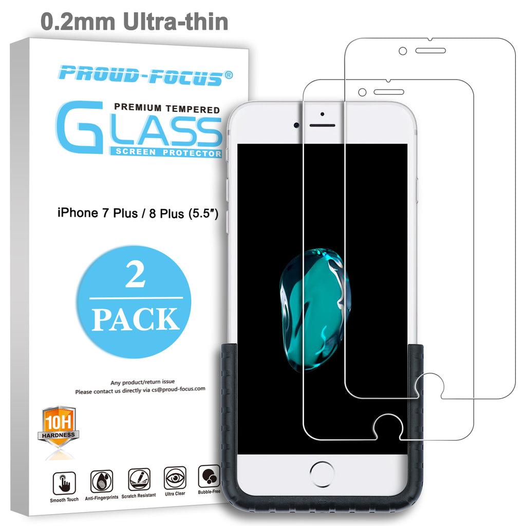 Iphone 7 Plus 8 Screen Protector Glass For Tempered Clear 3d Full Cover Premium Pro Apple