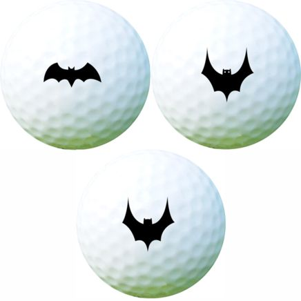Golf Ball Sticker / Stamp - Batman