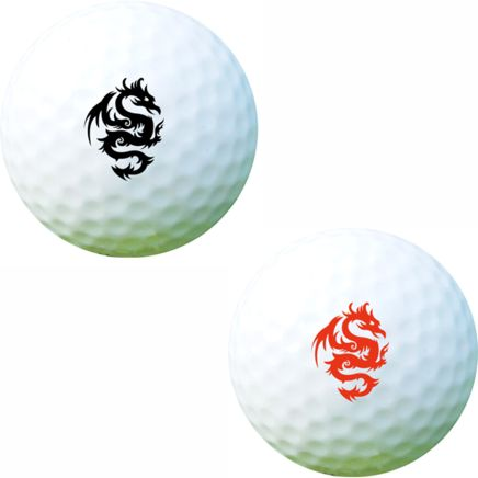 Golf Ball Sticker / Stamp - Snake