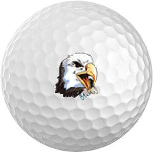 Golf Ball Sticker / Stamp - Eagle Mix