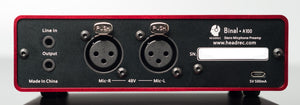 A100 Binaural Microphone Amplifier