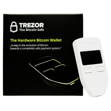 TREZOR One -  Crypto Hardware Wallet - ninjadodo