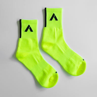FLURO YELLOW SOCK