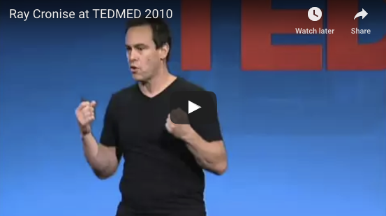 Ray Cronise Talks Cold at TEDMED