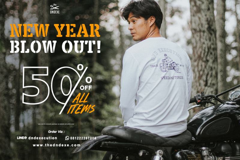 The DND EXE | NEW YEAR BLOW OUT!!