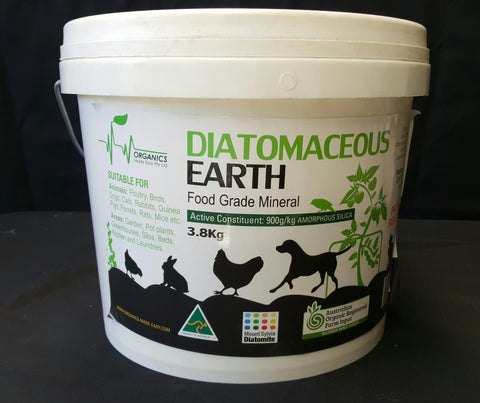 Diatomaceous Earth 3.8 kg (food grade)