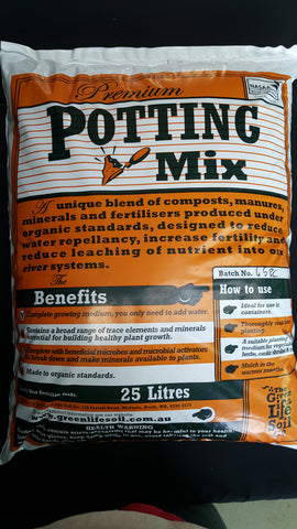 Green life soil premium potting mix 25 L