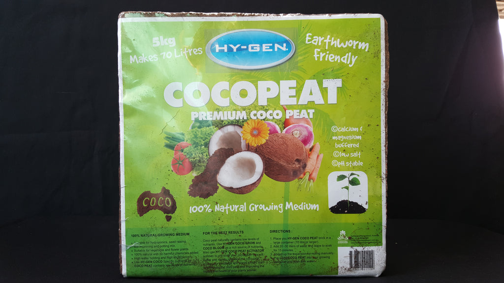 Hy-gen Coco peat 5 kg (makes up to 50 L)