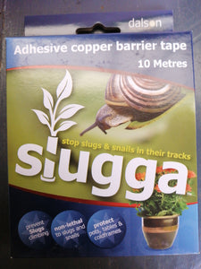 Slugga  adhesive copper barrier tape 10 m