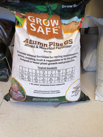 Grow Safe Autumn Blend 25kg