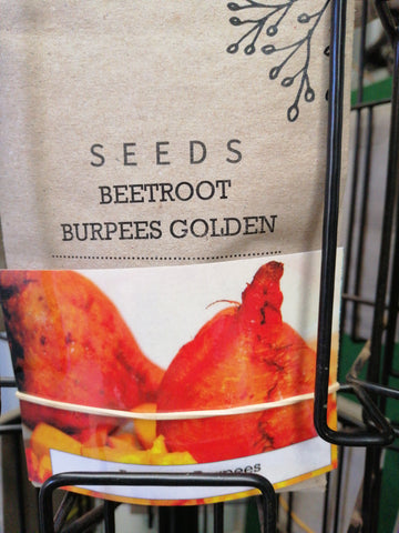 Beetroot - Burpees Golden seed packet