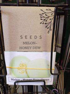 Melon - Honey dew green seed packet