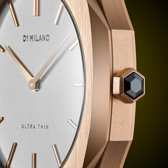D1 MILANO UTLL02 Ultra Thin Leather 38mm