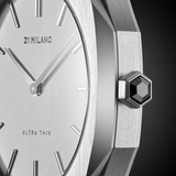 D1 MILANO UTLL01 Ultra Thin Leather 38mm
