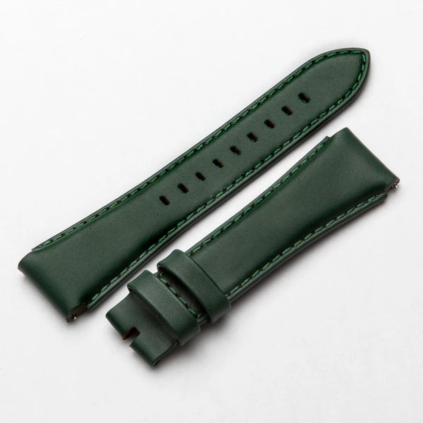 STR MSTR SB241LB Green Leather Strap