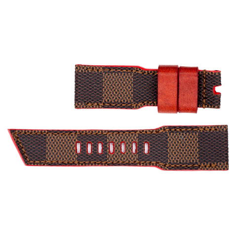 STR - LV Brown strap