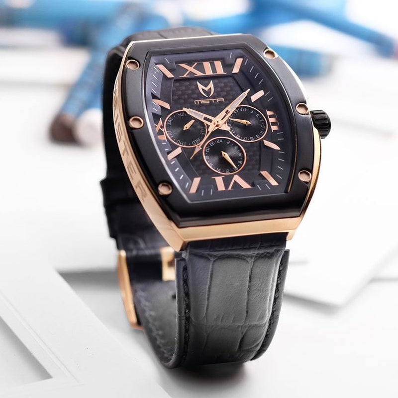 MSTR MJ107CB Major Rose Gold Black
