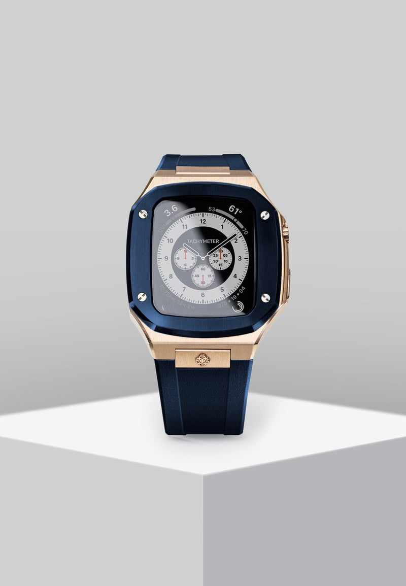 GC Watch Case SP44 Rose Gold Blue
