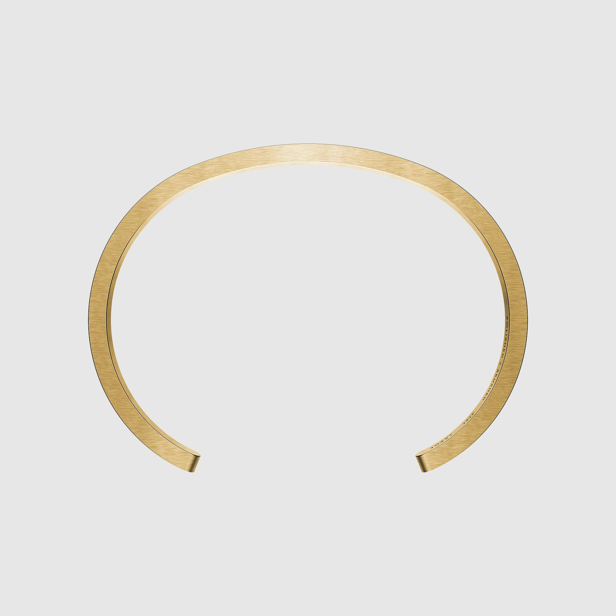 Corniche Men's Bracelet in Yellow Gold