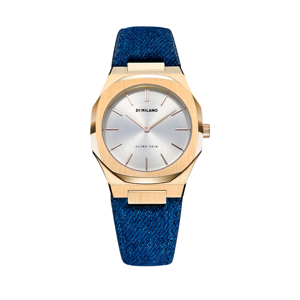 D1 MILANO UTDL03 Classic Denim 34mm