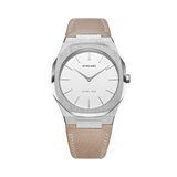 D1 MILANO UTLL04 Assisi SS19 Ultra Thin Leather 38mm