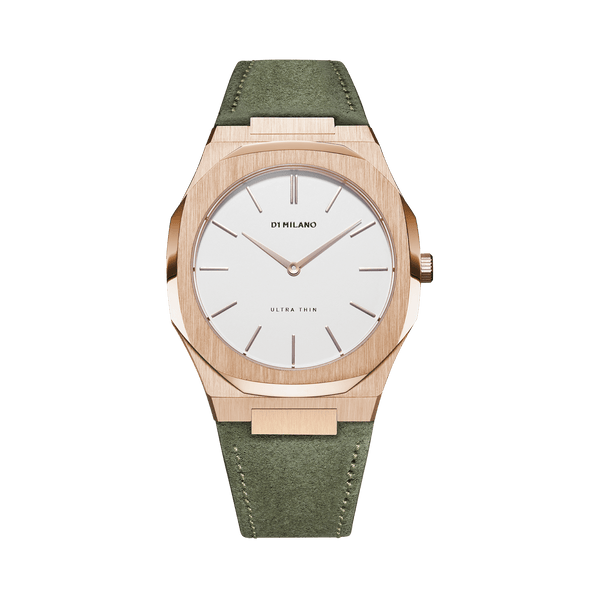 D1 MILANO UTLL08 Birch FW19 Ultra Thin Leather 38mm