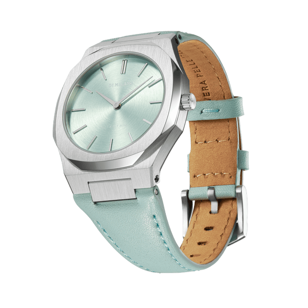 D1 MILANO UTLL10 Anise Ultra Thin Leather 34mm