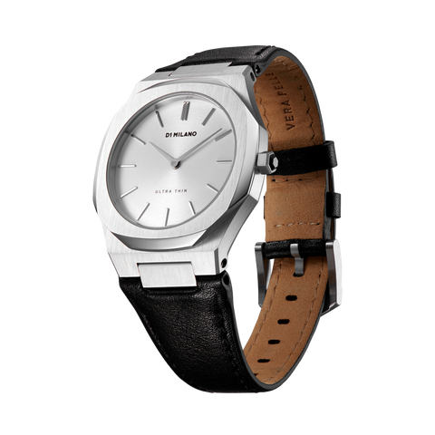 D1 MILANO UTLL13 Pearl Ultra Thin Leather 34mm