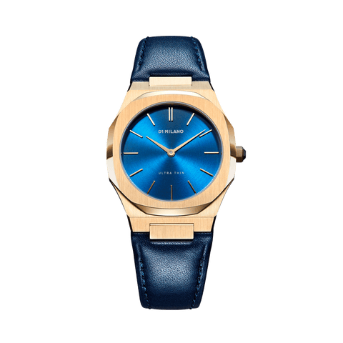 D1 MILANO UTLL15 Lapis Ultra Thin Leather 34mm