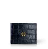 GC Wallet Croco Embossed Leather