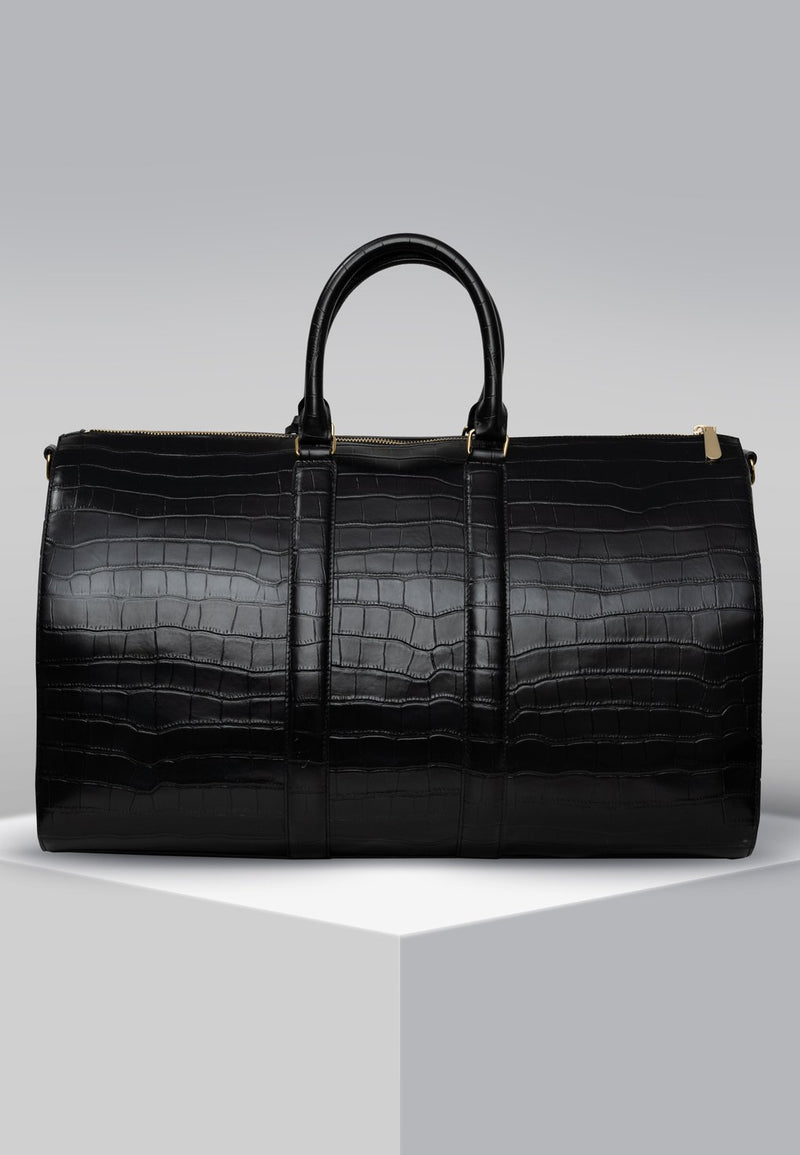 GC Weekend Bag Croco Embossed