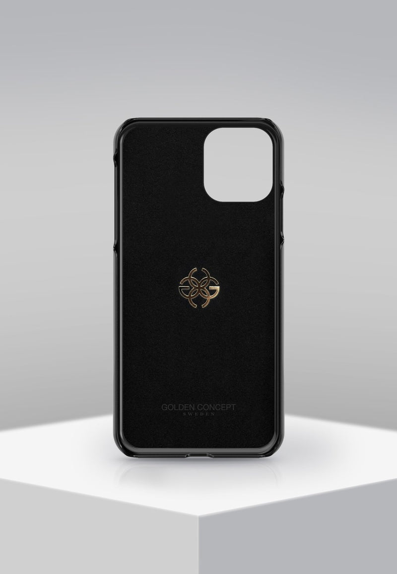 GC iPhone Case 12 Pro Max Gold Forged Carbon Edition