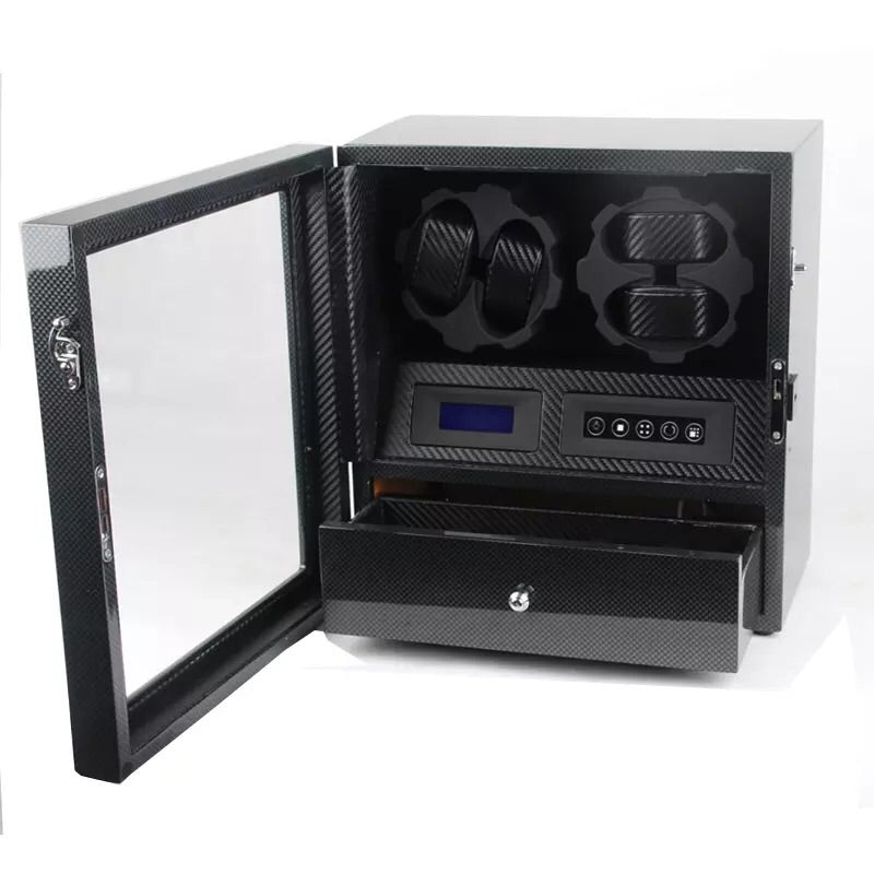 WB - Watch Winder LED 4-5 Carbon