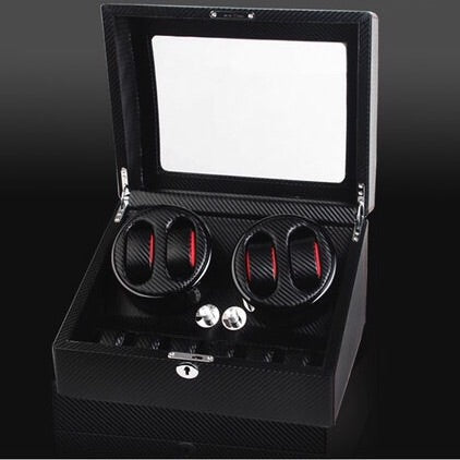 WB - Watch Winder 4-6 Carbon
