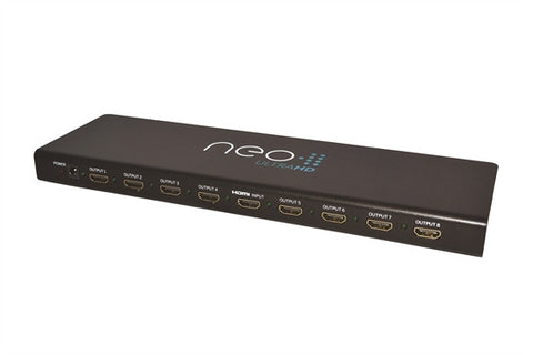 Pulse-EIGHT HDMI 1:8 Splitter, HDCP 2.2 and 6Gbps Support