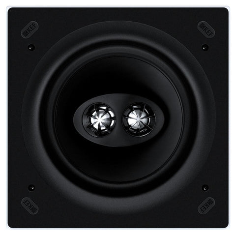 "KEF Ci160CSds In-Ceiling 6.5"" Dual Tweeter Square"