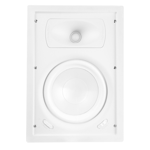 "TruAudio GPW-8 Ghost Series 8"" In-Wall Speaker, White poly woofer"