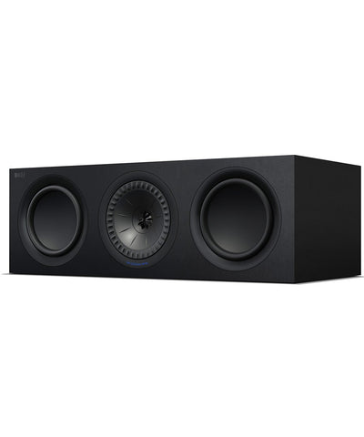 KEF Q650 Centre Speaker Black/White with Grill