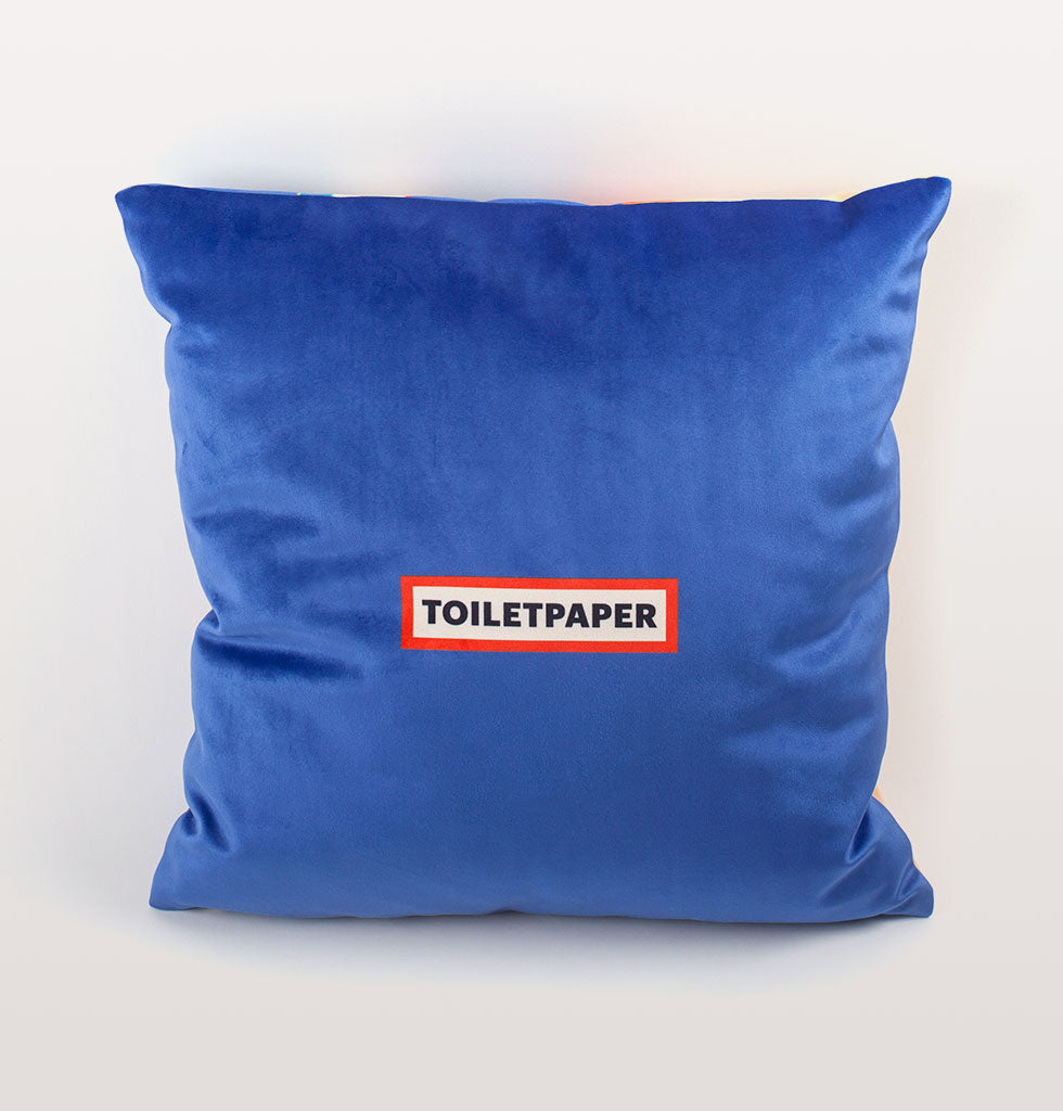 """TOILETPAPER"" TOOTHPASTE CUSHION"
