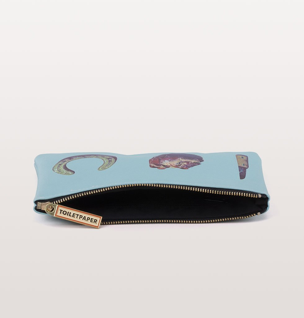 "W.A.GREEN | LOVE EDITION | COSMETIC POUCH  ""TOILETPAPER"""