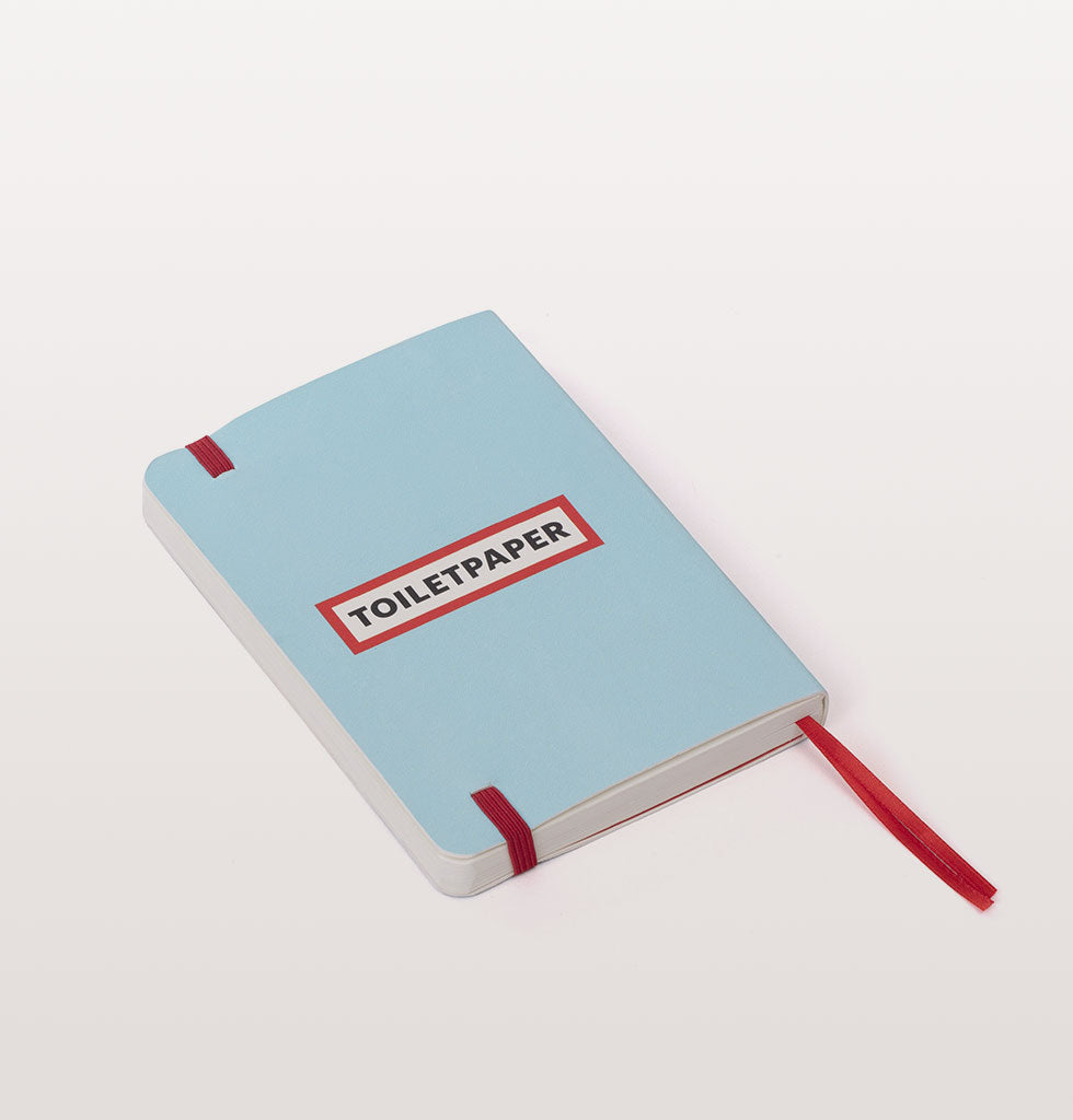 KEEPING TABS ON YOU TOILETPAPER NOTEBOOK
